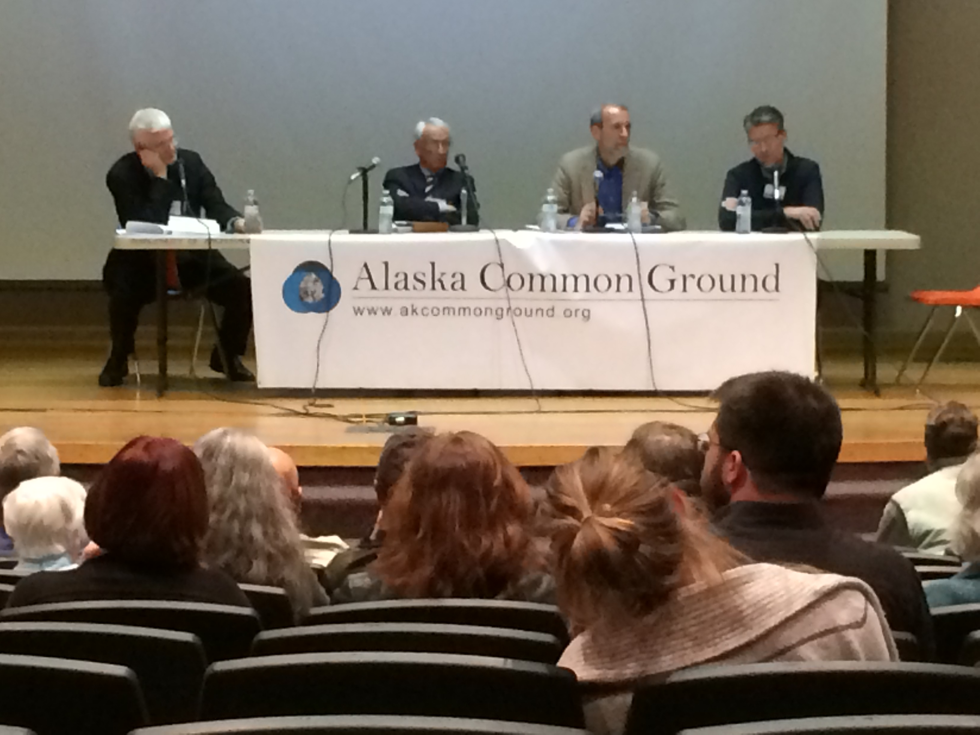 Panel on the politics of Alaska's Fiscal Future